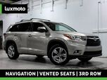 2016 Toyota Highlander Limited AWD 3rd Row Blind Spot Assist Back-Up Cam
