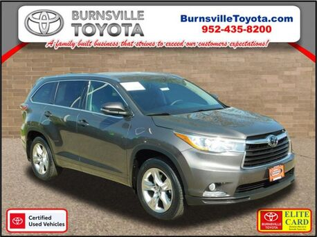 2016_Toyota_Highlander_Limited_ Burnsville MN