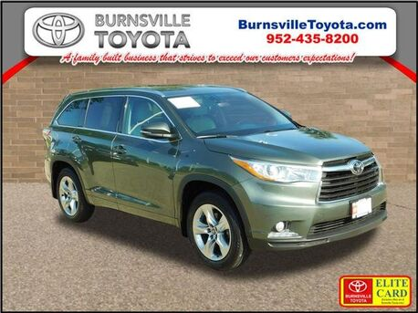 2016_Toyota_Highlander_Limited_ Burnsville MN