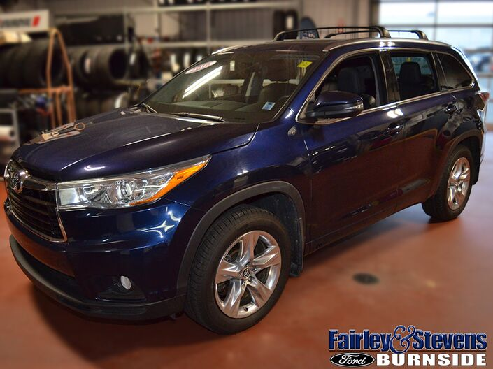 2016 Toyota Highlander Limited Dartmouth NS