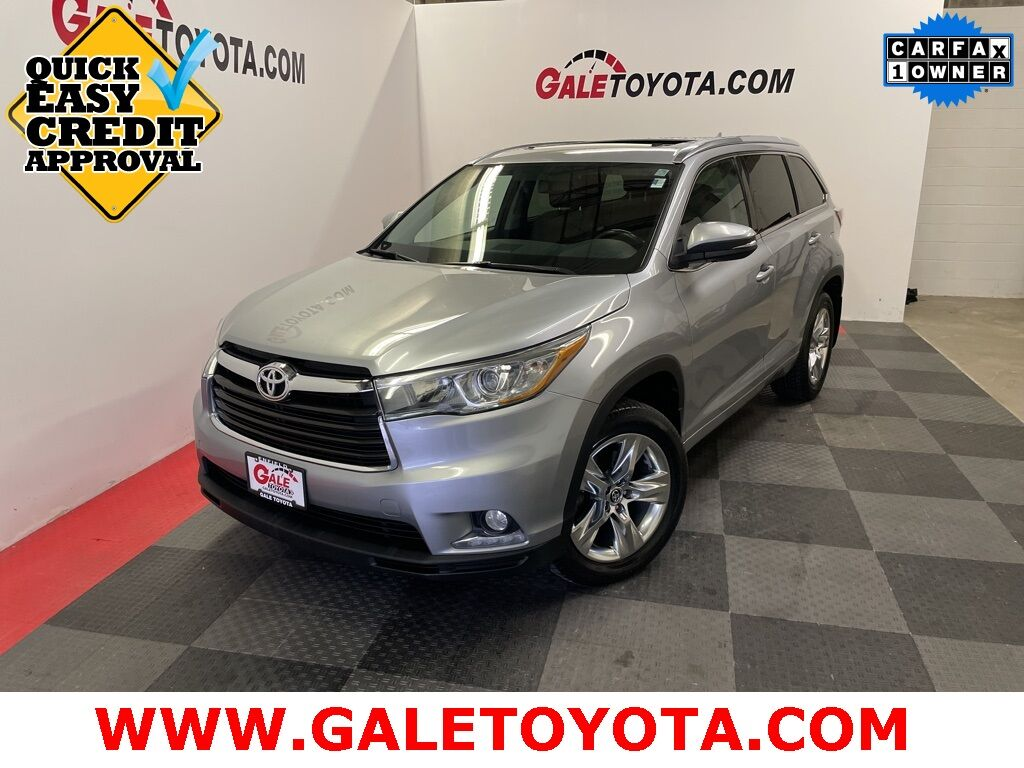 2016 Toyota Highlander Limited Enfield CT