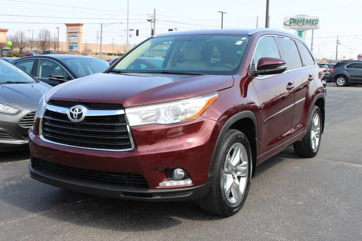 2016 Toyota Highlander Limited Fort Wayne Auburn and Kendallville IN
