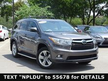 Toyota Highlander Limited Platinum 2016