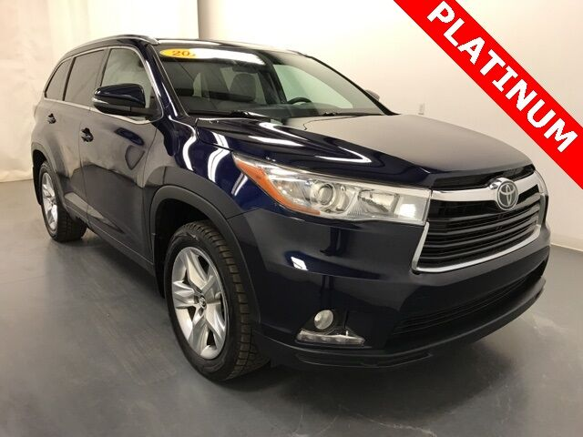 2016 Toyota Highlander Limited Platinum V6 AWD Holland MI