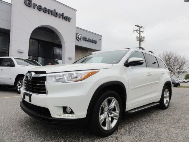 2016 Toyota Highlander Limited Platinum V6 Chesapeake VA