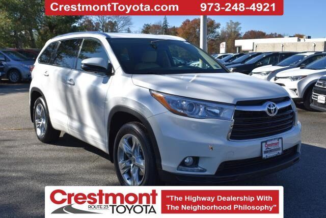2016 Toyota Highlander Limited Pompton Plains NJ