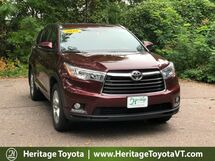 2016 Toyota Highlander Limited South Burlington VT