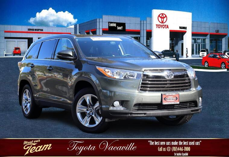 2016 Toyota Highlander Limited Sport Utility Vacaville CA