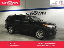 2016_Toyota_Highlander_XLE AWD/ Clean Carproof / One Owner / Local / Immaculate COndition_ Winnipeg MB