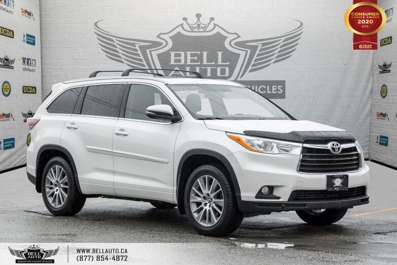 2016 Toyota Highlander XLE, AWD, NO ACCIDENT, NAVI, BACK-UP CAM, SUNROOF Toronto ON
