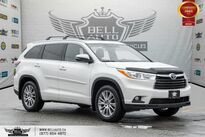 Toyota Highlander XLE, AWD, NO ACCIDENT, NAVI, BACK-UP CAM, SUNROOF 2016