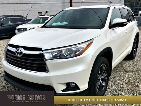 2016 Toyota Highlander XLE Bishop CA