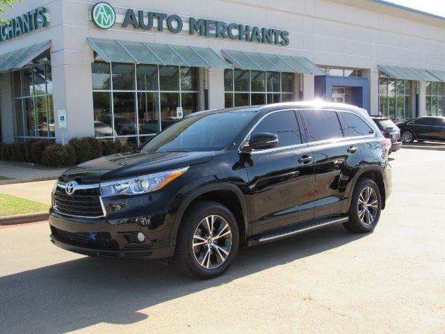 2016 Toyota Highlander XLE FWD V6 NAV, SUNROOF, HTD SEATS, BACKUP CAM, BLUETOOTH, SAT RADIO, PWR LIFT, PUSH BUTTON, 3RD ROW Plano TX