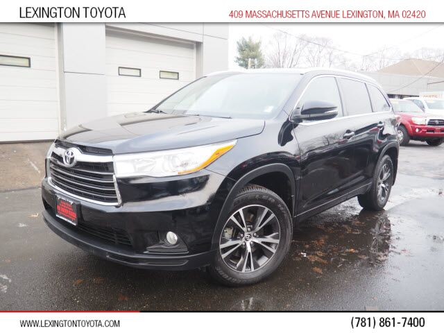 2016 Toyota Highlander XLE Lexington MA