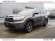 2016_Toyota_Highlander_XLE_ Lexington MA