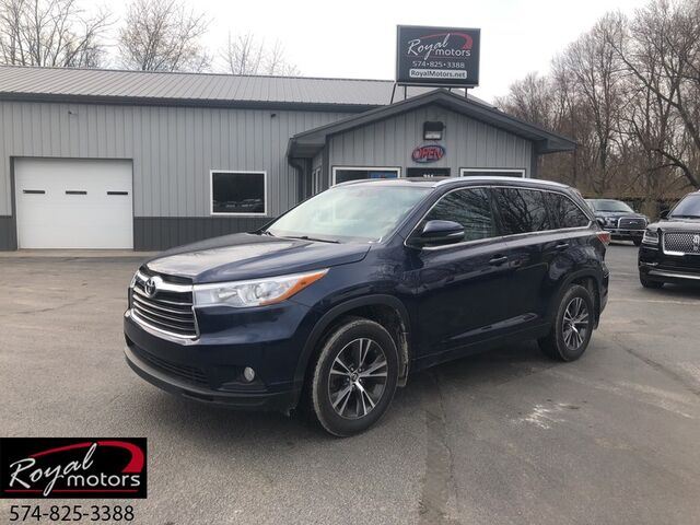 2016 Toyota Highlander XLE Middlebury IN