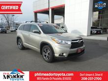 2016_Toyota_Highlander_XLE_ Pocatello ID