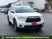 2016 Toyota Highlander XLE South Burlington VT