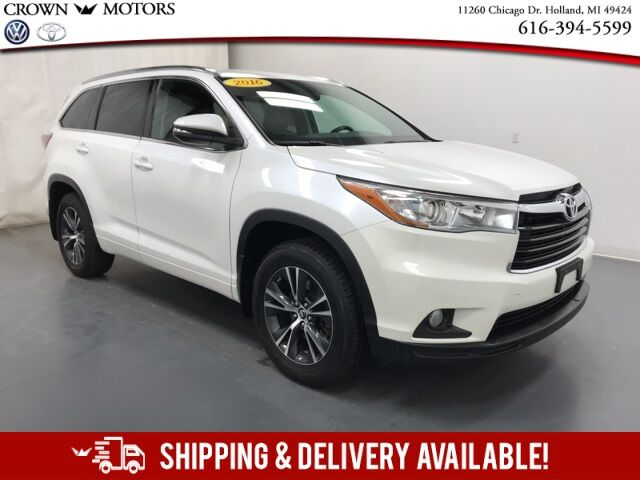 2016 Toyota Highlander XLE V6 AWD Holland MI