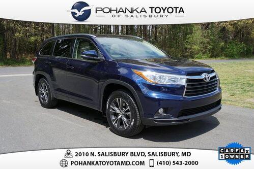 2016_Toyota_Highlander_XLE V6 AWD_ Salisbury MD