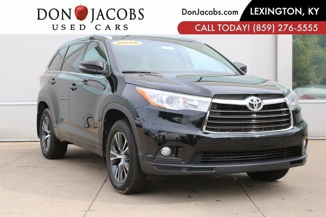 2016 toyota highlander xle v6 lexington ky 26057331. Black Bedroom Furniture Sets. Home Design Ideas