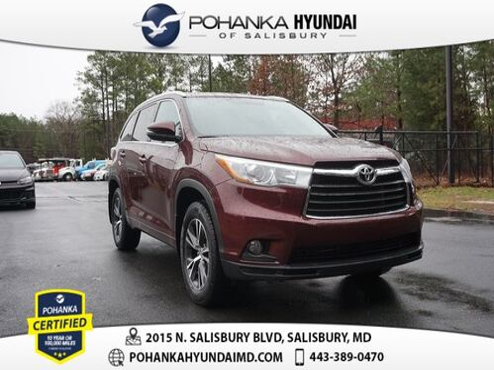 2016_Toyota_Highlander_XLE V6 **MUST SEE**_ Salisbury MD