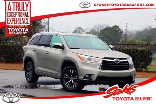 2016_Toyota_Highlander_XLE_ Aiken SC