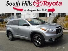 2016_Toyota_Highlander_XLE_ Washington PA