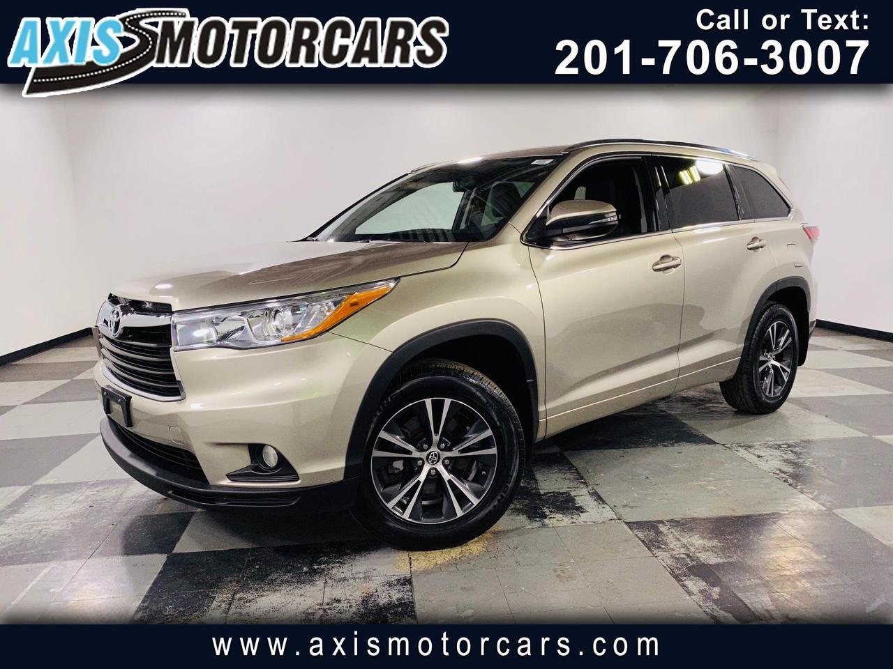 2016 Toyota Highlander XLE w/Navigation Backup Camera 3rd Seat Row Jersey City NJ