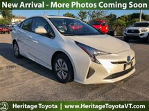 2016 Toyota Prius Four South Burlington VT