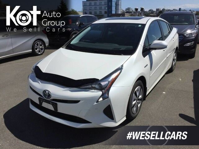 2016 Toyota Prius Technology HYBRID! FANTASTIC FUEL ECONOMY! NO ACCIDENTS! ONE OWNER! Kelowna BC