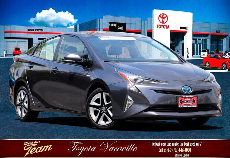 2016 Toyota Prius Three Touring Hatchback Vacaville CA