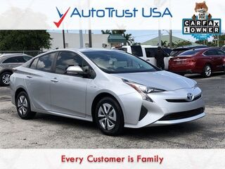 Toyota Prius Two Eco 1 OWNER CLEAN CARFAX FACTORY WARRANTY BACKUP CAM 2016