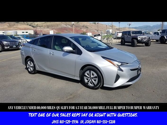 2016 Toyota Prius Two Salt Lake City UT