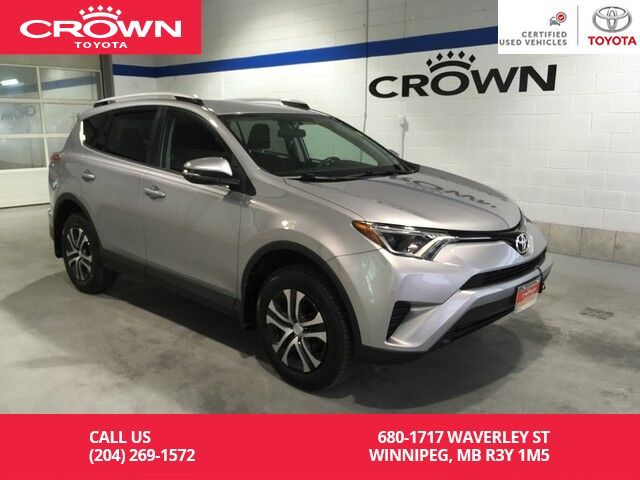 2016 Toyota RAV4 LE AWD Upgrade Pkg / Clean Carproof / One Owner / Local / Immaculate Condition Winnipeg MB