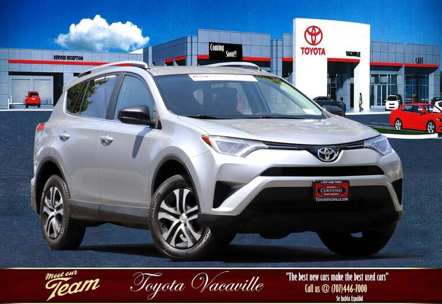 2016 Toyota RAV4 Le Sport Utility Vacaville CA