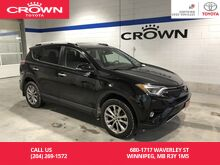 2016_Toyota_RAV4_Limited AWD / One Owner / Manitoba Vehicle / Highway Kms / Great Condition_ Winnipeg MB