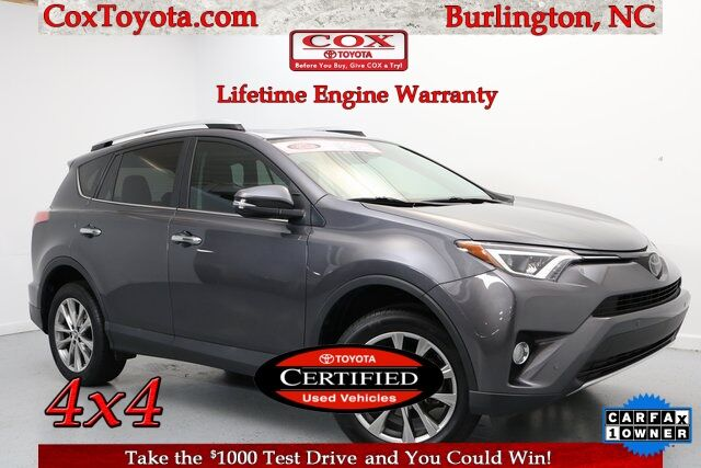 2016 Toyota RAV4 Limited Burlington NC
