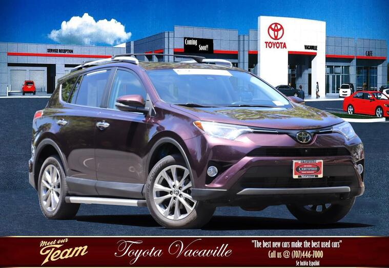 2016 Toyota RAV4 Limited Sport Utility Vacaville CA