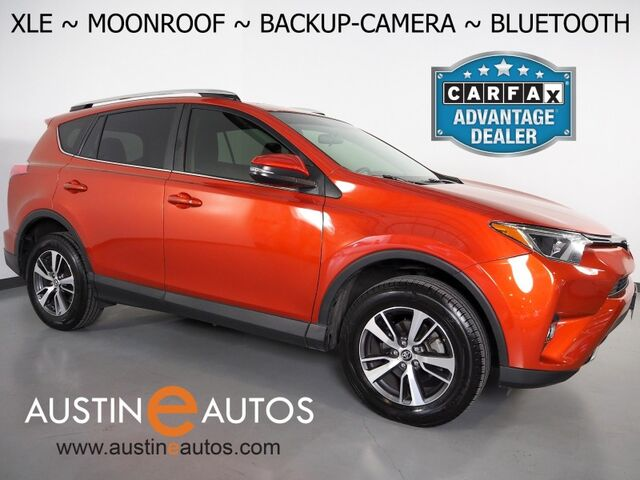 2016 Toyota RAV4 XLE *BACKUP-CAMERA, COLOR TOUCH SCREEN, MOONROOF, POWER TAILGATE, CRUISE CONTROL, ALLOY WHEELS, BLUETOOTH PHONE & AUDIO Round Rock TX