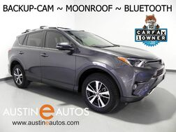 2016_Toyota_RAV4 XLE_*BACKUP-CAMERA, MOONROOF, TOUCH SCREEN, POWER LIFTGATE, STEERING WHEEL CONTROLS, BLUETOOTH PHONE & AUDIO_ Round Rock TX