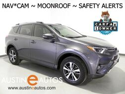 2016_Toyota_RAV4 XLE_*NAVIGATION, BLIND SPOT ALERT, PRE-COLLISION SAFETY, BACKUP-CAMERA, ADAPTIVE CRUISE, MOONROOF, PUSH BUTTON START, BLUETOOTH PHONE & AUDIO_ Round Rock TX