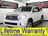 Toyota Sequoia LIMITED 5.7L V8 NAVIGATION SUNROOF LEATHER HEATED SEATS REAR CAMERA 2016