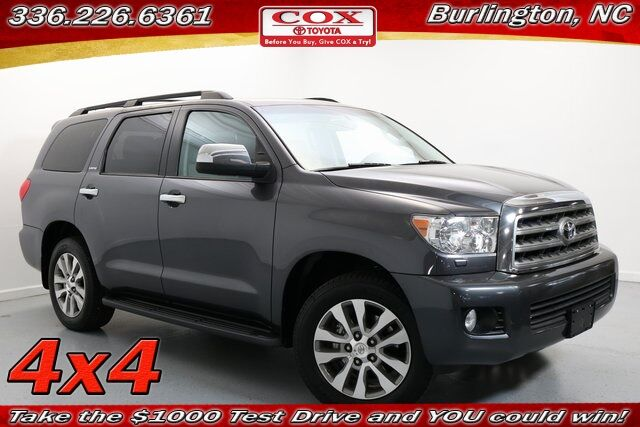 2016 Toyota Sequoia Limited Burlington NC