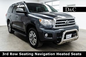 2016_Toyota_Sequoia_Platinum 3rd Row Seating Navigation Heated Seats_ Portland OR