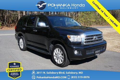 2016_Toyota_Sequoia_Platinum 5.7L V8 4X4 ** Pohanka Certified 10 Year / 100,000_ Salisbury MD