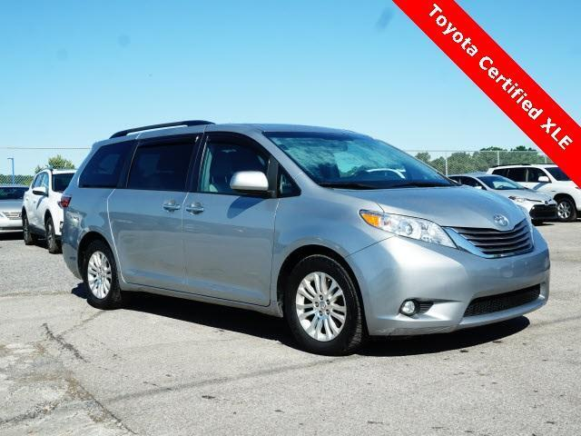 2016 Toyota Sienna 5dr 8-Pass Van XLE FWD Cranberry Twp PA
