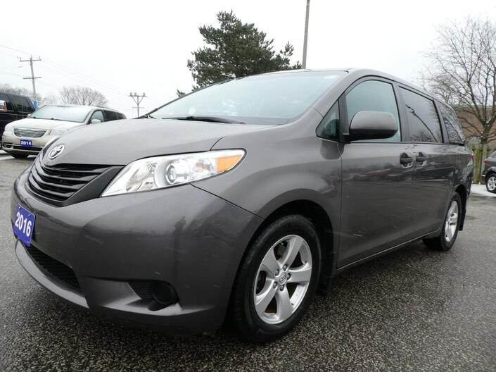 2016 Toyota Sienna Back Up Cam Bluetooth Cruise Control Essex ON