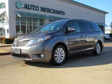 2016_Toyota_Sienna_Limited Premium AWD 7-Passenger V6  LEATHER SEATS, DUAL SUNROOF, NAVIGATION, BLIND SPOT MONITOR_ Plano TX