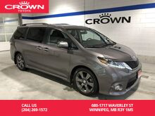 2016_Toyota_Sienna_SE 8-Pass FWD Tech Pkg / Low Km / Local / One Owner / DVD Player / Navigation / Best Value In Town_ Winnipeg MB